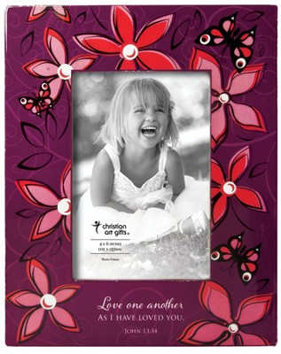 Love One Another Photo Frame  -