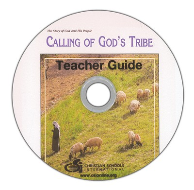 Calling of God's Tribe Teacher's Guide DVD-ROM    -