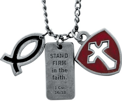 Stand Firm Dog Tag  -