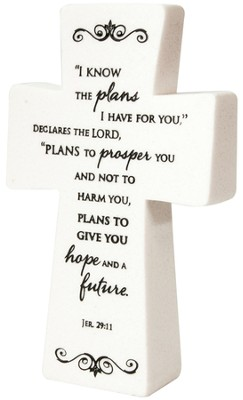 Tabletop Cross Jeremiah 29:11  -