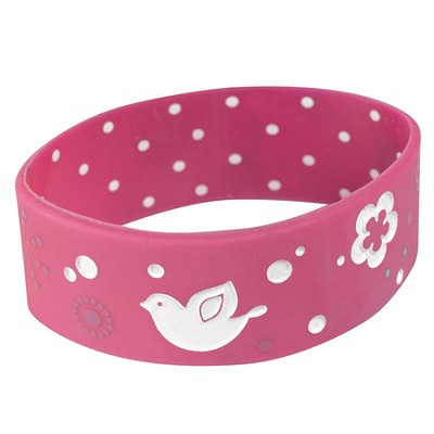Witness Gear Wristband Peace, Pink  -