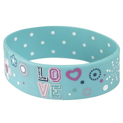 Witness Gear Wristband Love, Blue  -