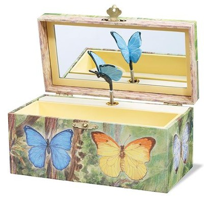 Butterfly Jewelry Box  -
