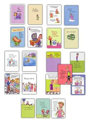 Assorted Humor Cards, Set of 20  -