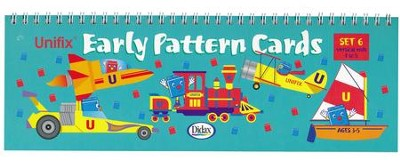 Unifix Early Pattern Book 6, Rods 1-5  -