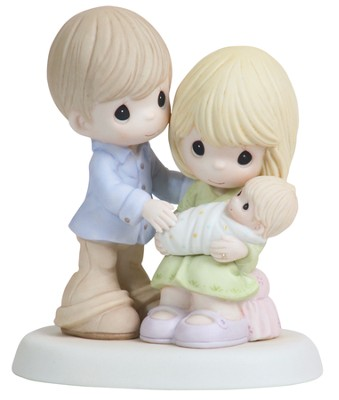 In Our Hearts From The Very Start, Precious Moments Figurine  -