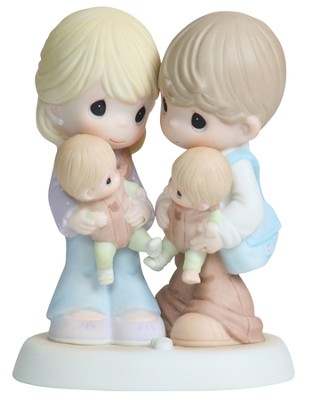 Twice The Blessings!, Precious Moments Figurine  -