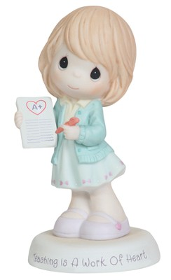 Teaching Is A Work Of Heart, Precious Moments Figurine  -