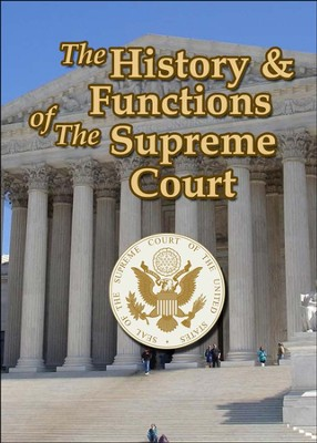 History and Functions of The Supreme Court DVD  -