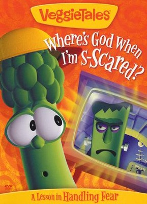 Where's God When I'm Scared? VeggieTales DVD  -