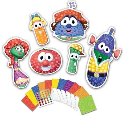 VeggieTales &#174 My First Sticky Mosaics&#174 Fun Friends  -