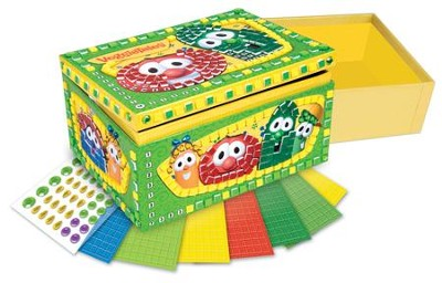 VeggieTales Sticky Mosaics Friendship Box   -