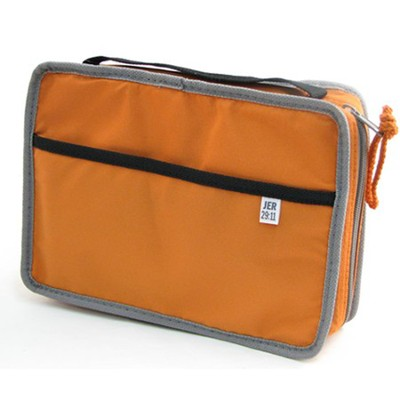 Reversible Orange/Gray Large Bible  -