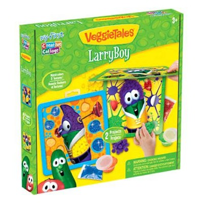 VeggieTales &#174 My First Creative Collage&#153 Larry Boy  -