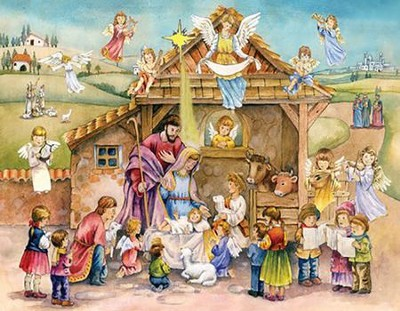 Joy to the World Advent Calendar  -