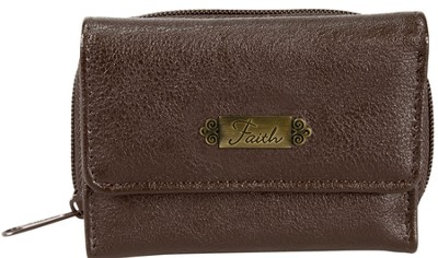 Faith, Faux Leather Wallet, Khaki  -