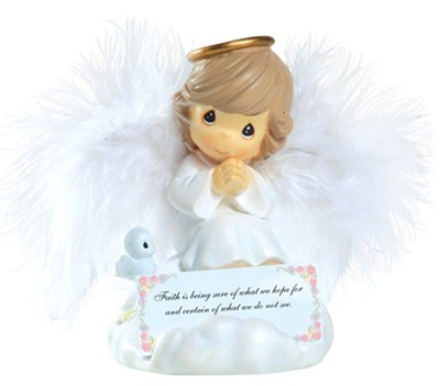 Faith Angel, Precious Moments  -     By: Precious Moments