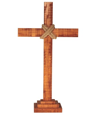 Old Rugged Altar Cross  -