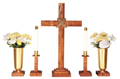 Old Rugged Altar Set  -
