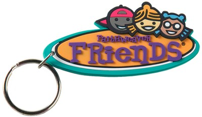 FaithWeaver Friends, Elementary, Key Chain, 5-pack   -