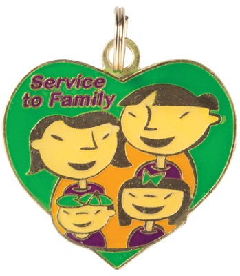 FaithWeaver Friends, Elementary, Service to Family Key  , 5-pack  -