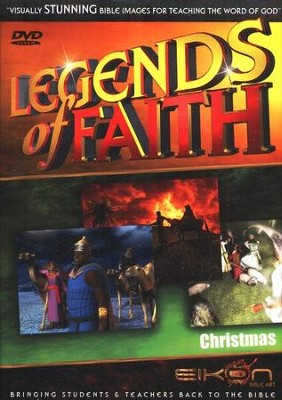 Legends of the Faith: Christmas  -     By: Eikon Bible Art