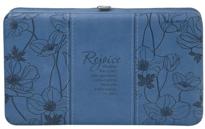Rejoice Clutch Wallet, Blue  -