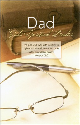 Dad God's Spiritual Leader (Proverbs 20:7), Bulletins, 100  -