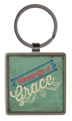 Grace, Retro Keyring  -