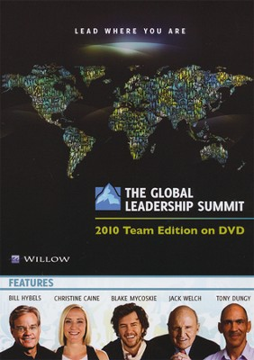 The Global Leadership Summit: 2010 Team Edition on DVD    -     By: Bill Hybels, Jim Collins, Jeff Manion