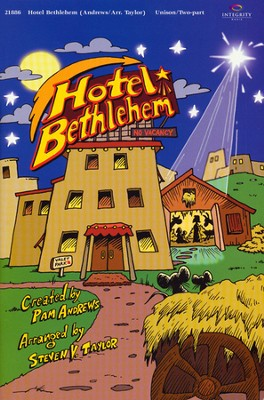 Hotel Bethlehem Songbook   -     By: Pam Andrews