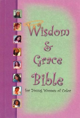 KJV Wisdom & Grace Bible for Young Women of Color-- Hardcover  -     By: Bible