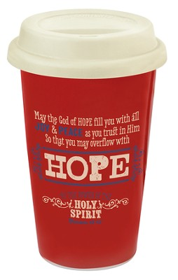Hope, Retro Travel Mug  -