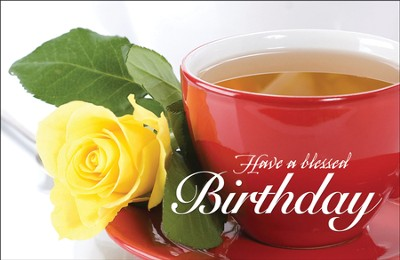 Birthday Rose (2 Corinthians 13:11) Postcards, 25  -
