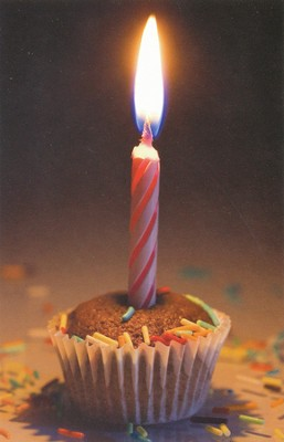 Cupcake Birthday (Romans 15:13) Postcards, 25  -