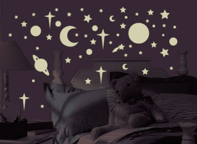 Celestial Vinyl Wall Stickers  -