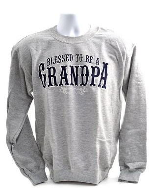 Blessed to Be a Grandpa, Sweatshirt, XX-Large (50-52)  -