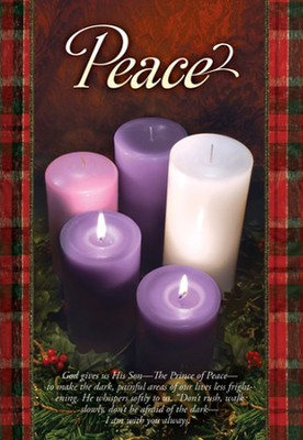 Peace (Psalm 42:1) Advent Bulletins, 100  -