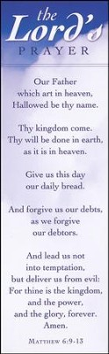 Lord's Prayer (Matthew 6:9-13) Bookmarks, 25  -