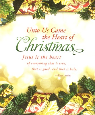 The Heart of Christmas (Roy Lessin) Large Bulletins, 100  -
