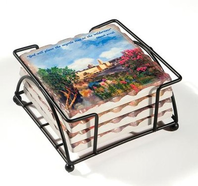 Trees of Jerusalem Coasters   -