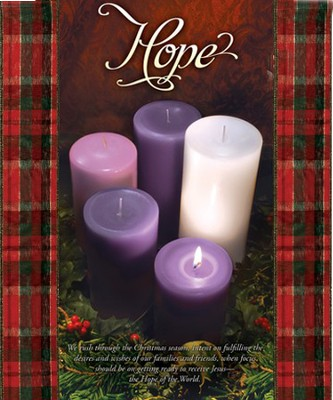 Hope (Psalm 42:1) Large Advent Bulletins, 100  -