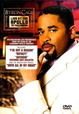Live At the Apollo: The Proclamation, DVD   -     By: Byron Cage