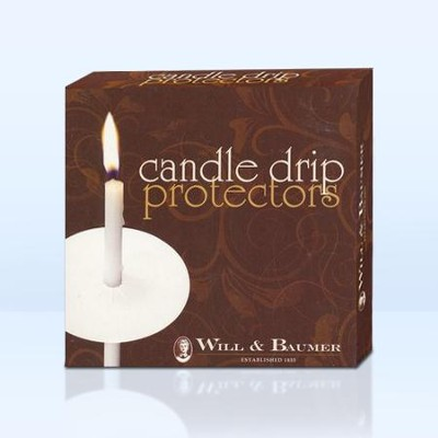 White Paper Drip Protectors, 50  -