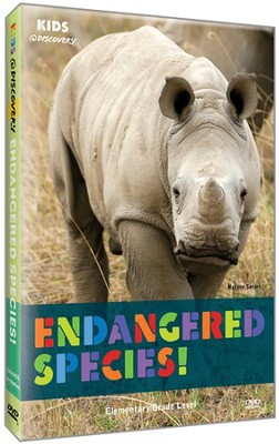 Kids @ Discovery: Endangered Species! DVD   -