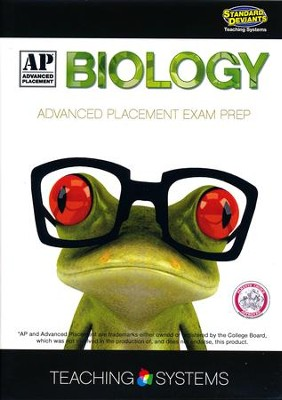 Advanced Placement Biology DVD & CDROM  -