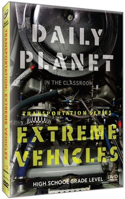 Daily Planet: Extreme Vehicles DVD   -