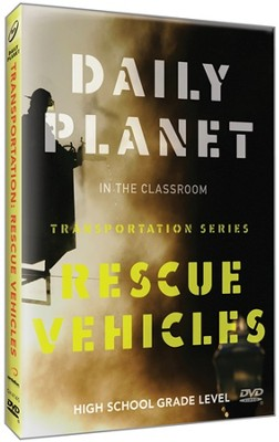 Daily Planet: Rescue Vehicles DVD   -