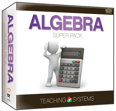 Teaching Systems Algebra DVD & CDROM Super Pack  -