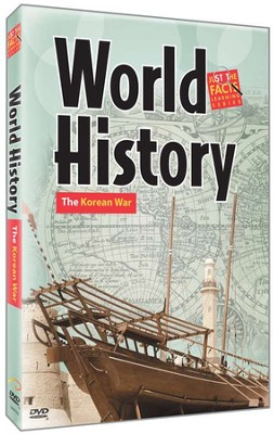 World History: The Korean War DVD  -